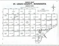 Index Map, St. Louis County 1987 South